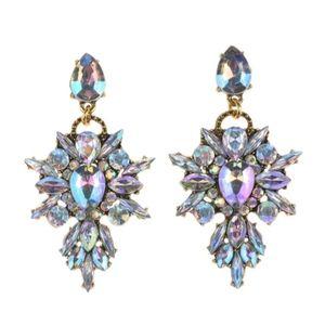🎉HP🎉🎀Boho Crystal Rhinestone Pendant Earrings